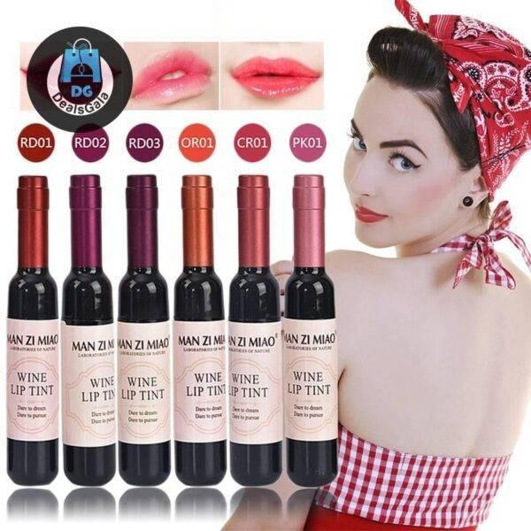 LEARNEVER Red Wine Korean Style Lipstick Makeup cb5feb1b7314637725a2e7: 1|2|3|4|5|6