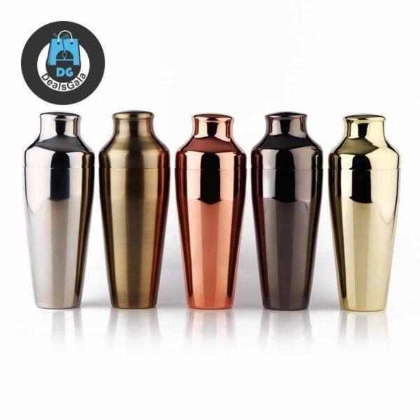 Premium Parisian Cocktail Shaker Home Equipment / Appliances cb5feb1b7314637725a2e7: Bronze|Copper Finish|Golden Finish|Gunmetal Black|Mirror Finish