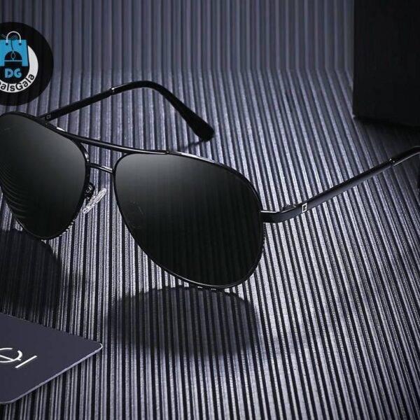 Men Retro Sunglasses Metal Frame Men's Glasses af7ef0993b8f1511543b19: C1|C2|C3|C5