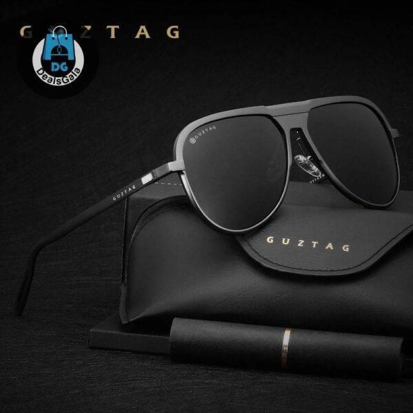 GUZTAG Unisex Classic Brand Men Aluminum Sunglasses Men's Glasses af7ef0993b8f1511543b19: Black|Blue|gray|Red|Silver