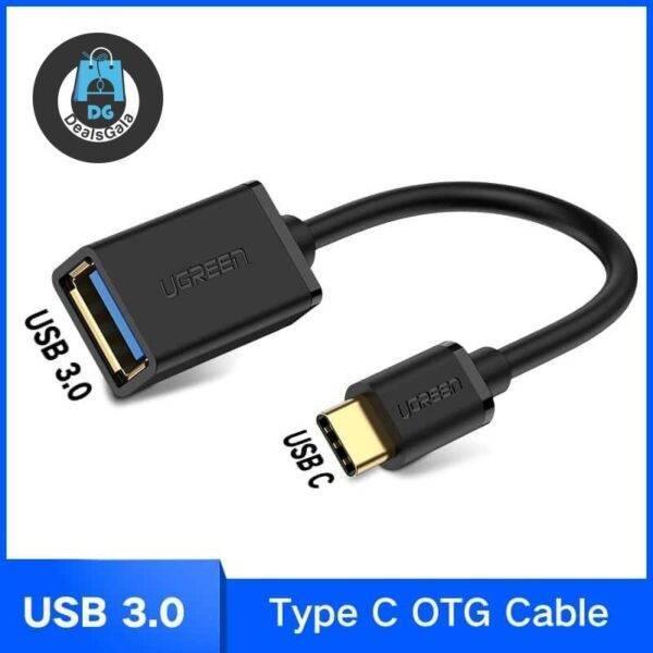 USB C Adapter OTG Cable Type C to USB 3.0 Accessories and Parts cb5feb1b7314637725a2e7: USB 2.0 PVC Black|USB 2.0 PVC White|USB 3.0 Metal Grey|USB 3.0 Metal Silver|USB 3.0 PVC Black|USB 3.0 PVC White