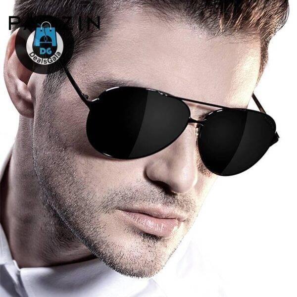 Men Polarized Aviation Alloy Frame Sunglasses Men's Glasses af7ef0993b8f1511543b19: Black frame black|Gold frame Green|Gradien Black|Silver frame Blue