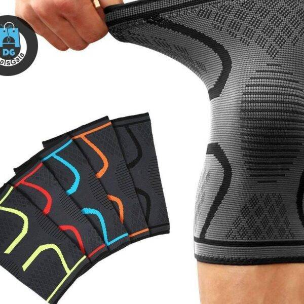 2pcs Knee Support Pads Sports and Entertainment cb5feb1b7314637725a2e7: Black|Blue|Green|orange|Red