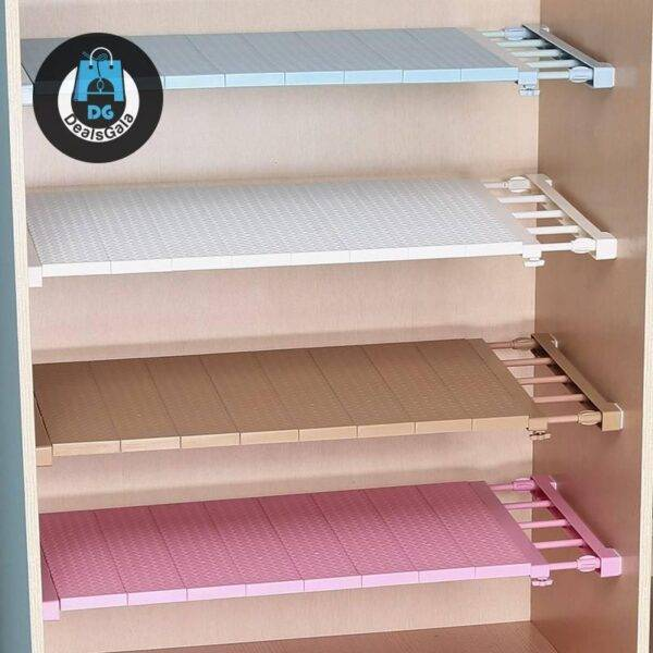Adjustable Closet Organizer Storage Shelf Wall Mounted Home Equipment / Appliances cb5feb1b7314637725a2e7: beige-30-40cm beige-38-55cm beige-50-80cm blue-30-40cm blue-38-55cm blue-50-80cm pink-30-40cm pink-38-55cm pink-50-80cm white-30-40cm white-38-55cm white-50-80cm White-Small Width10cm-23-30cm Width10cm-38-55cm Width10cm-50-80cm