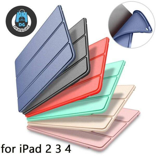 iPad 2 3 4 Smart Cover Case Accessories and Parts Smartphone and Tablets Tablet Accessories cb5feb1b7314637725a2e7: Black|Cool Black|Cool Blue|Cool Red|dark blue|Gold|lavender|Matcha|Mint|pink|Red|Rose Gold