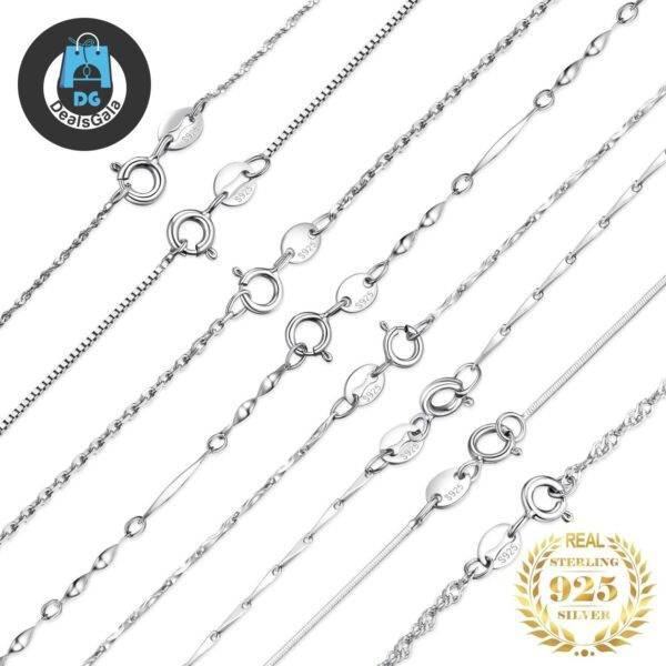 100% Genuine 925 Sterling Silver Necklace Jewelry Necklace 8703dcb1fe25ce56b571b2: BAR CHAIN 40CM|BAR CHAIN 45CM|BOX CHAIN 40CM M|BOX CHAIN 40CM S|BOX CHAIN 45CM M|BOX CHAIN 45CM S|INGOT CHAIN 40CM|INGOT CHAIN 45CM|ROPE CHAIN 40CM|ROPE CHAIN 45CM M|ROPE CHAIN 45CM S|SINGAPORE CHAIN 40CM|SINGAPORE CHAIN 45CM|SNAKE CHAIN 40CM|SNAKE CHAIN 45CM|TRACE CHAIN 40CM M|TRACE CHAIN 40CM S|TRACE CHAIN 45CM M|TRACE CHAIN 45CM S|TWISTED CHAIN 40CM|TWISTED CHAIN 45CM