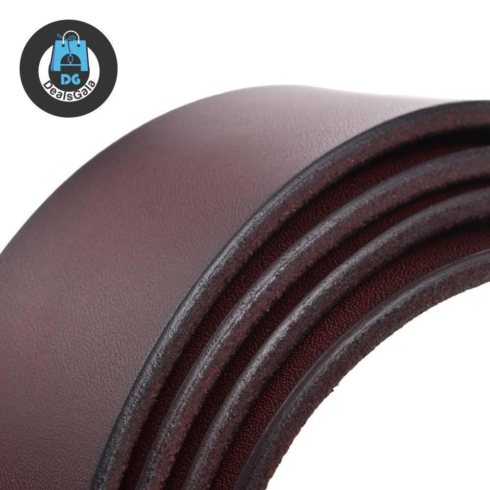 Classic Business Leather Belt Men's Clothing and Accessories Men Clothing Accessories Men Belts cb5feb1b7314637725a2e7: Black|Coffee