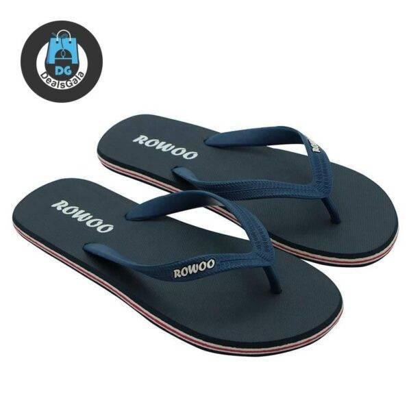 Men's Beach Simple Flip Flops Shoes Men's Shoes cb5feb1b7314637725a2e7: Black|dark blue|Green|Red