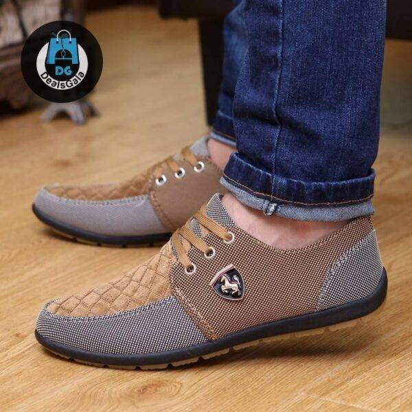 Men's Casual Style Canvas Shoes Shoes Men's Shoes cb5feb1b7314637725a2e7: Gray|Green|navy blue|S08 dard blue|S08blue|S08yellow|Yellow