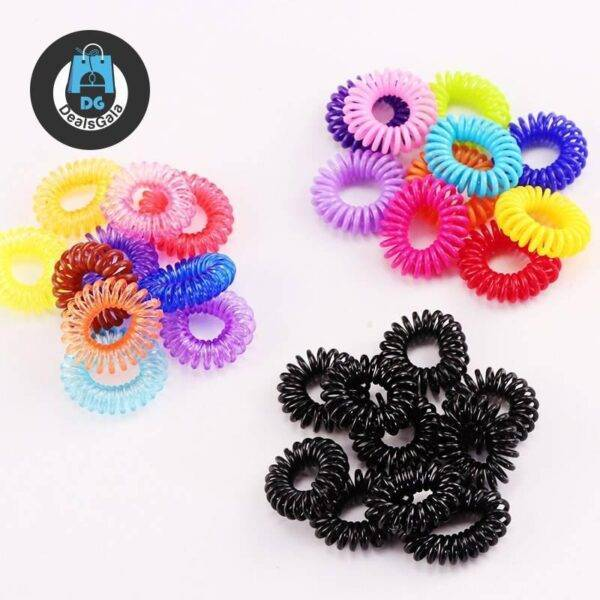 Cute Colorful Scrunchies Mother and Kids Baby and Kid's Clothing and Accessories Girls Accessories cb5feb1b7314637725a2e7: Black|mix 1|mix 2