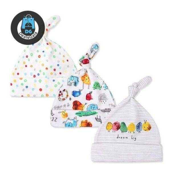 Set of 3 Colorful Cotton Baby Hats Mother and Kids Baby and Kid's Clothing and Accessories Hats and Caps Girls Accessories cb5feb1b7314637725a2e7: bell cat 3pcs|blue dinosaur 3pcs|blue dinosaur 3pcs|colored bus 3pcs|dot cat|glasses bear 3pcs|gray glasses bear|gray monster 3pcs|happy 3pcs|i love dad 3pcs|light blue elephant|line elephant 3pcs|milk 3pcs|mom hug 3pcs|mouse flower 3pcs|pink butterfly 3pcs|pink elephant|pink mom 3pcs|pink pegasus|pink rabbit|polar bear|rainbow 3pcs|rainbow rabbit|rainbow sun|red tractor 3pcs|royal blue bear 3pcs|royal blue elephant
