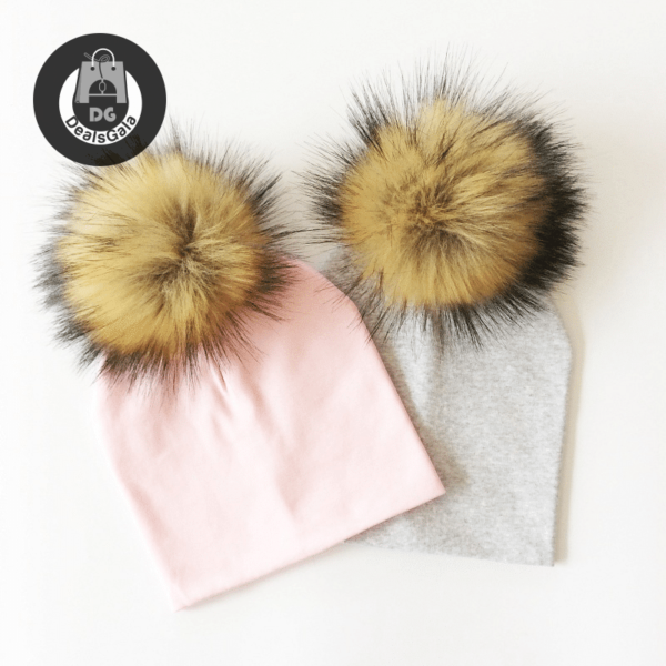 Kid's Hat With Pompon Mother and Kids Baby and Kid's Clothing and Accessories Hats and Caps Girls Accessories cb5feb1b7314637725a2e7: Black|black|black strip|Blue|Brown|Dark Grey|dark grey|Dark Pink|lake BLUE|leopard|light blue|Light Green|Light grey|light grey|light grey|Light Purple|Navy|navy|orange|pink|pink|Purple|Red|red|Rose|rose|White|Yellow|yellow