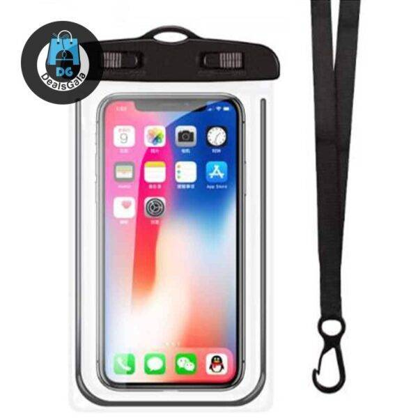 Waterproof Mobile Phone Cases Phone Cases and Bags cb5feb1b7314637725a2e7: Black|Blue|pink|White