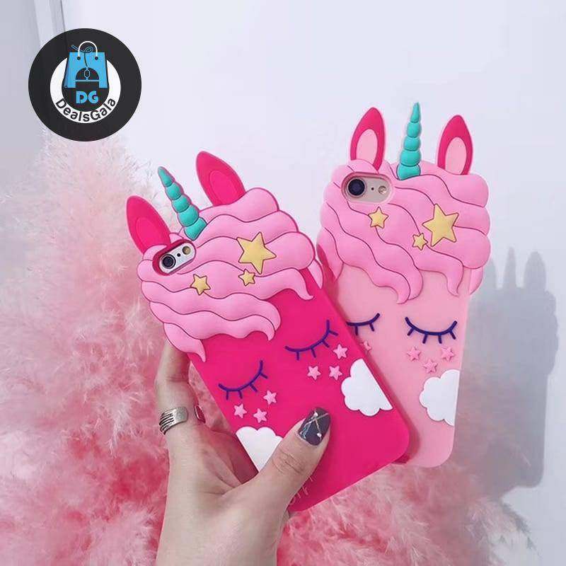 3D Cartoon Unicorn Soft Silicone Case for iPhone Phone Cases and Bags d92a8333dd3ccb895cc65f: For 6Plus 6S Plus|For iPhone 11|For iPhone 11 Pro|for iPhone 11 ProMax|for iPhone 5s SE 5c|For iPhone 6S 6|For iPhone 7|For iPhone 7 Plus|For iPhone 8|For iPhone 8 Plus|For iPhone X|For iPhone XR|For iPhone XS|For iPhone XS MAX