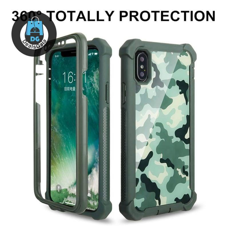 360 Protection Armor Case for iPhone