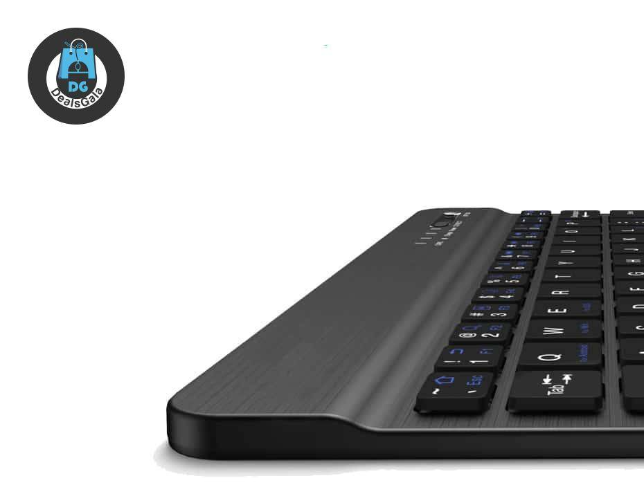 Universal Thin Bluetooth Keyboard with Backlight