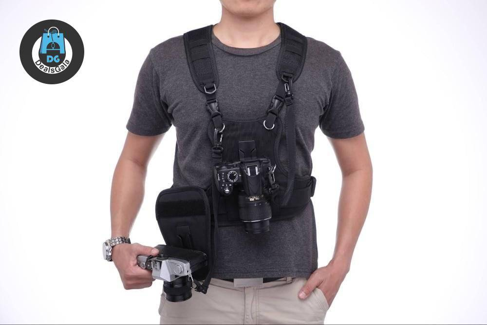 Adjustable Dual Camera Carrying Harness