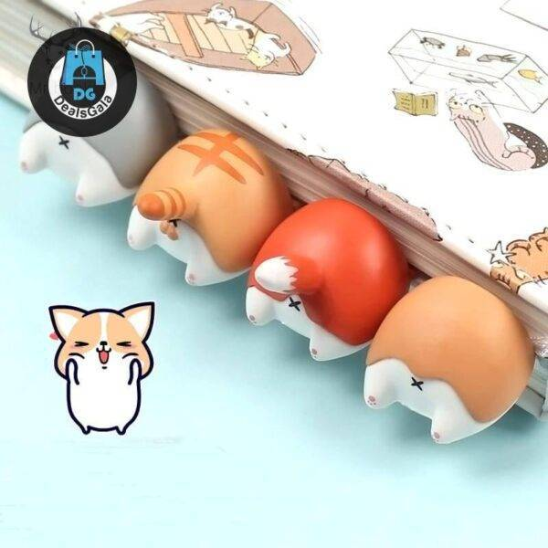 Kawaii Animal Shaped Bookmark Education and Office Supplies cb5feb1b7314637725a2e7: A|B|C|D