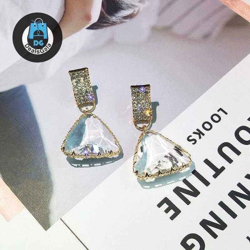 Women's Elegant Transparent Earrings