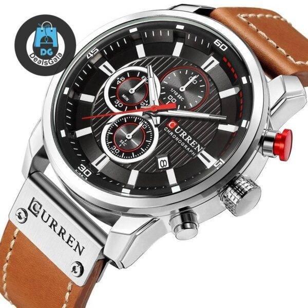 Sport Style Multifunctional Men's Watch Men's Watches cb5feb1b7314637725a2e7: black black black Brown Black White Brown Blue Black Brown Blue White Brown Brown Gold Gray Gray Gold
