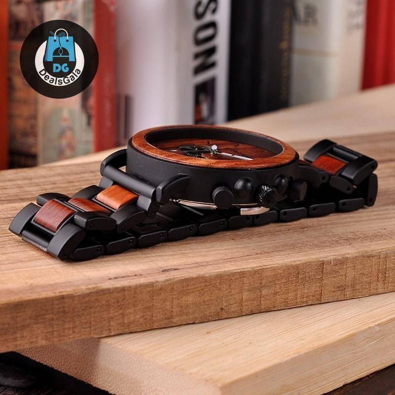 Boho Style Wooden Men's Watch