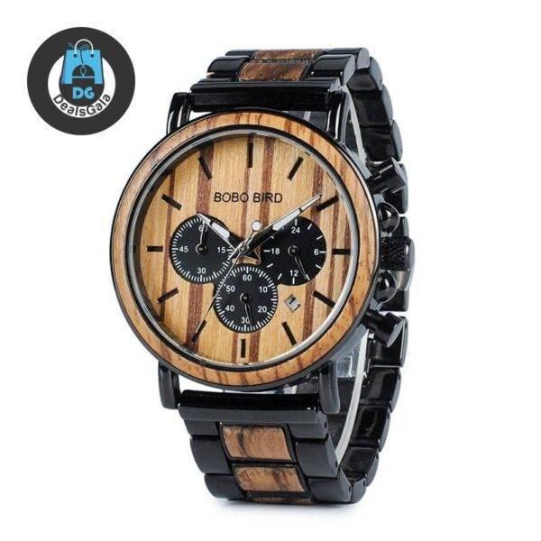 Boho Style Wooden Men's Watch Men's Watches cb5feb1b7314637725a2e7: W-P09-1 W-P09-3