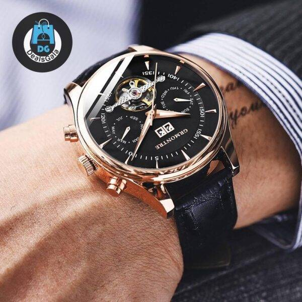 Men's Leather Mechanical Watches Men's Watches cb5feb1b7314637725a2e7: Black G-8809 Black G-8809 Blue G-8809 Rose Blue G-8809 Rose White Rose Gold / Black Rose Gold / Blue Rose Gold White Steel Black Steel Rose Black Steel Rose Blue Steel Rose White Steel White White