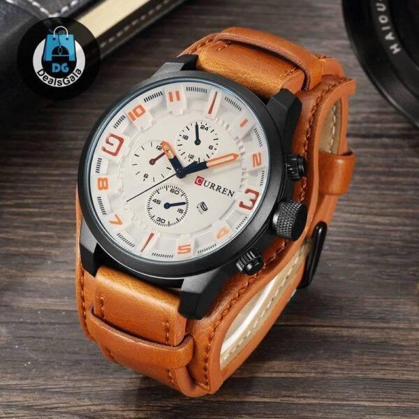 Unisex Sport Watch Men's Watches Women's Watches cb5feb1b7314637725a2e7: Black Brown Brown yellow Gray White