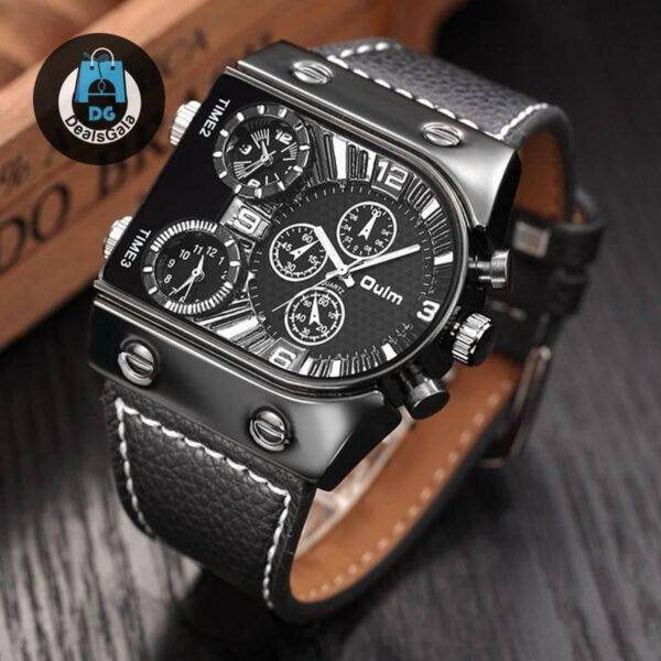 Casual Leather Wristwatch Men's Watches cb5feb1b7314637725a2e7: 1 2 3 4 5 6