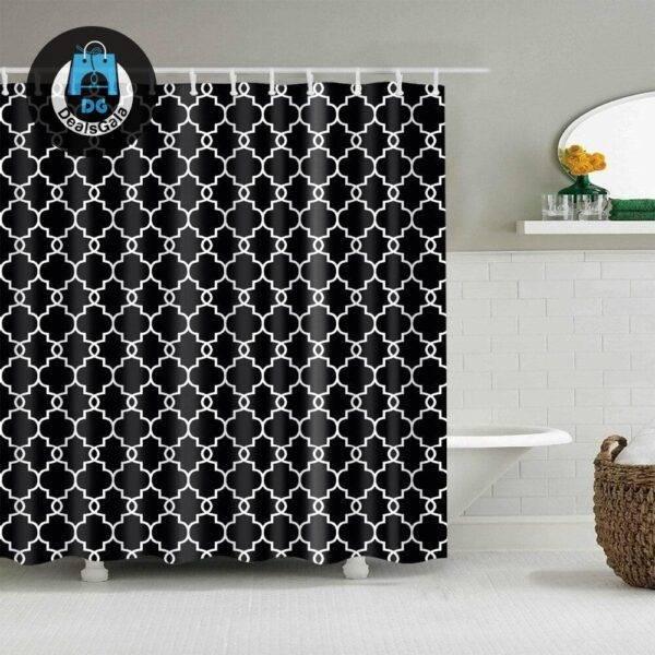 Waterproof Geometric Pattern Shower Curtains Bathroom Accessories Shower Curtains Home Equipment / Appliances cb5feb1b7314637725a2e7: 00|1|2|3|4|5|6|7|8
