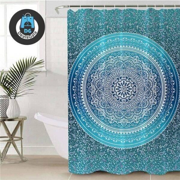 Mandala Printed Shower Curtain Bathroom Accessories Shower Curtains Home Equipment / Appliances cb5feb1b7314637725a2e7: 1|10|11|12|13|14|15|16|17|2|3|4|5|6|7|8|9