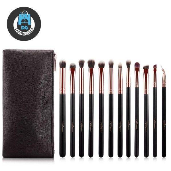 12 Pieces of Eye Shadow Make up Brush Beauty and Health Makeup a4a8fbf9f14b58bf488819: ST12RG|STB12RG
