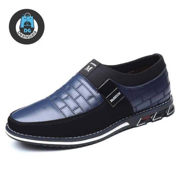 Men's Casual Suede Panelled Slip-One Shoes Shoes Men's Shoes cb5feb1b7314637725a2e7: black NO plush|black plush|blue NO plush|blue plush|brown NO plush|brown plush