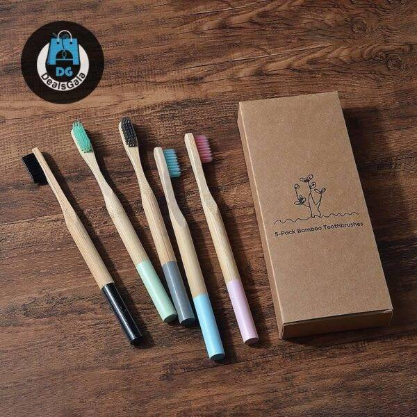 Color Block Bamboo Toothbrushes 5 Pcs Set Personal Care Appliances Oral Hygiene cb5feb1b7314637725a2e7: 200 cotton swab 3 Piece straws 5 Pcs color mixing 5 Piece Color Mix 5 Piece grey 5 Piece Kids rainbow 5 Piece light green 5 Piece pink 5 Piece sky blue toothbrush case Toothbrush Holder