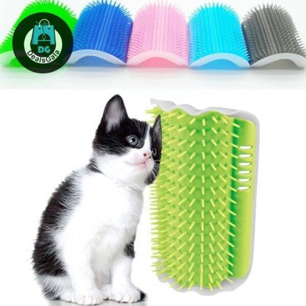 Cat Self Grooming Brush Pet supplies cb5feb1b7314637725a2e7: Black Blue Gray Green orange pink Red Sky blue