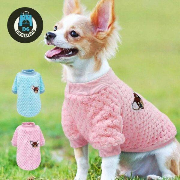 Cute Winter Clothes For Small Dogs Pet supplies cb5feb1b7314637725a2e7: Blue pink