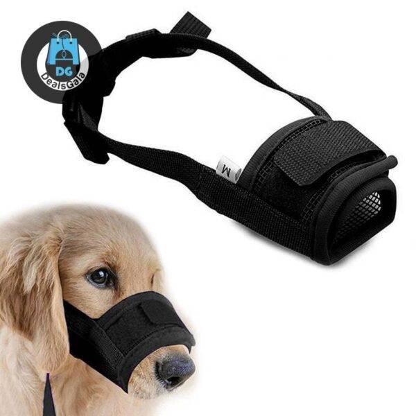 Anti Barking Dog Muzzle Pet supplies cb5feb1b7314637725a2e7: Black Blue Green orange pink Purple Red Yellow