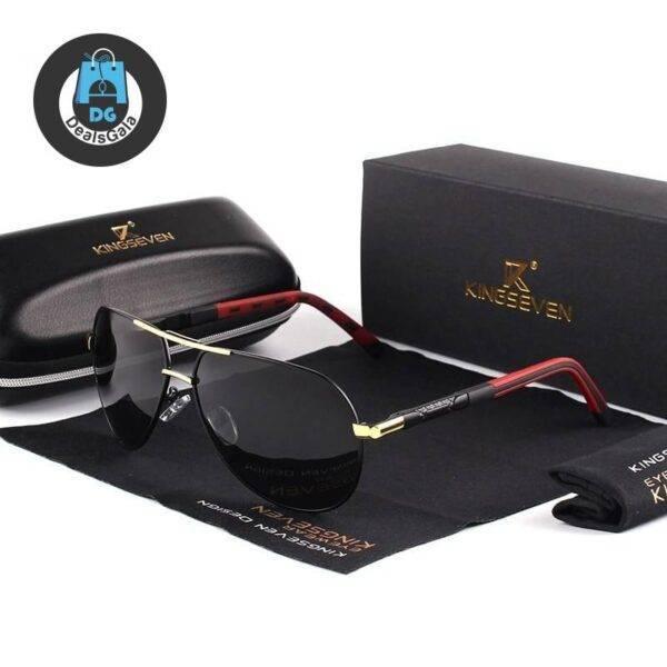 Men's Classic Design Polarized Aluminum Sunglasses Men's Glasses af7ef0993b8f1511543b19: Black Gray|Gold Black|Gray Black|GrayFrameBlue|Red Brown|Silver Black|Silver Red
