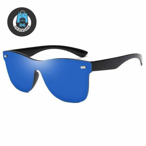 Men's Luxury Rimless Sunglasses Men's Glasses af7ef0993b8f1511543b19: Black|Blue|Gold|Green|pink|Purple|Silver