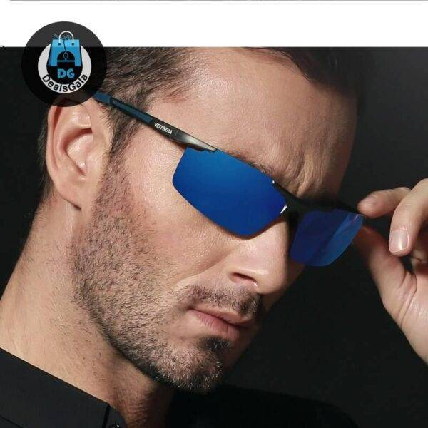 Men's Polarized and Coated Mirror Sunglasses Men's Glasses af7ef0993b8f1511543b19: Black|Blue|Gold|gray|Silver Mirror Lens|Yellow Night Vision