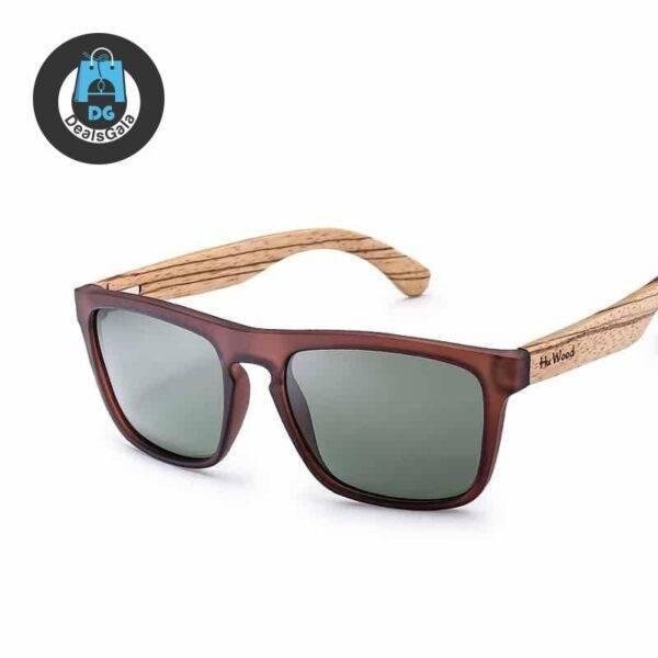 Elegant Rectangle-Shaped Bamboo Wood Men's Sunglasses Men's Glasses af7ef0993b8f1511543b19: 1|2|3|4|5