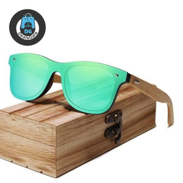 Men's Bamboo Frame Polarized Sunglasses Men's Glasses af7ef0993b8f1511543b19: Blue bamboo|Brown bamboo|Gray bamboo|Green bamboo|Red bamboo