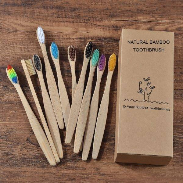 mixed color bamboo toothbrush Personal Care Appliances Oral Hygiene cb5feb1b7314637725a2e7: 10 Piece Beige 10 Piece Black 10 Piece Blue 10 Piece Brown 10 Piece Color Mix 10 Piece Mint green 10 Piece Purple 10 Piece Rainbows 10 Piece White 10 Piece yellow 1000Pcs color mixing 10PC Bamboo charcoal 10PC Kids Beige 10PC Kids Mixing