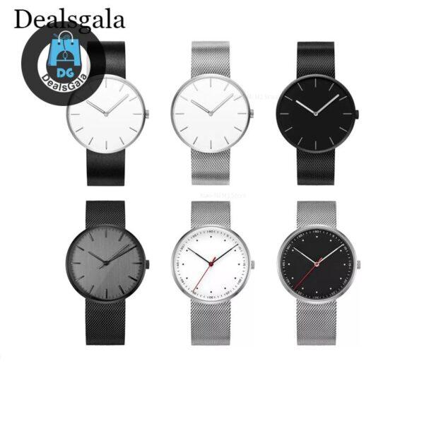 Classic Waterproof Watch cb5feb1b7314637725a2e7: Aurora White Beautiful Silver Dark night Elegant black Lava Ash Tech black