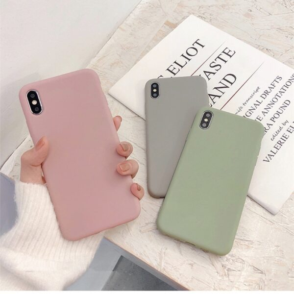 Cute Matte Solid Candy Phone Case for Iphone d92a8333dd3ccb895cc65f: for i X Xs|for i Xs max|for i11pro|for i11promax|for i6 6s|for i6plus 6sp|for i7plus|for i8|for i8plus|For iPhone 11|For iPhone 7|For iPhone XR