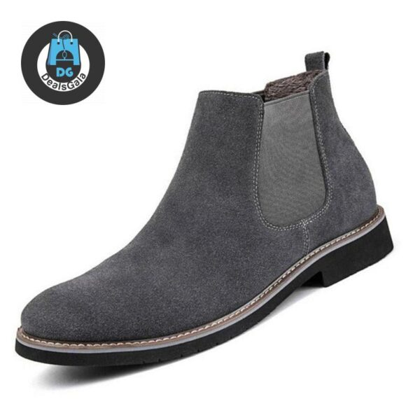 Men Ankle Boots cb5feb1b7314637725a2e7: Black boots|Black with fur boot|Deep Blue boots|Deep blue with fur|Gray boots|Gray with fur boots|Khaki boots|Khaki with furboots