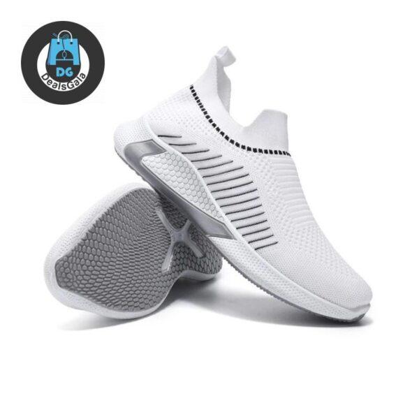 Cross Border Men's Women Running Shoes cb5feb1b7314637725a2e7: Black|White
