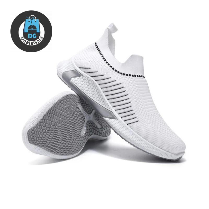 Cross Border Men's Women Running Shoes cb5feb1b7314637725a2e7: Black White