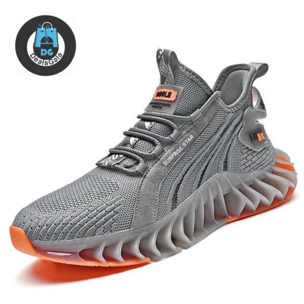 Men Running Blade Shoes cb5feb1b7314637725a2e7: Black|Gray|White
